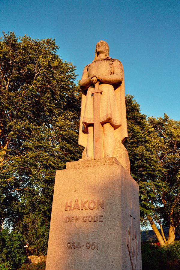 Håkon den gode.Foto: Øystein Aarbø